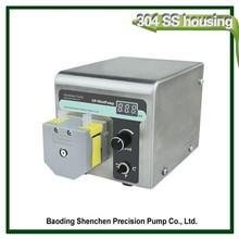 Portable peristaltic pump for spraying machine