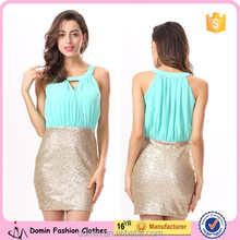 New Fashion Short Sequin Party Cocktail Dresses 2015