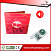 greeting card recording device /music card inserts recordable
