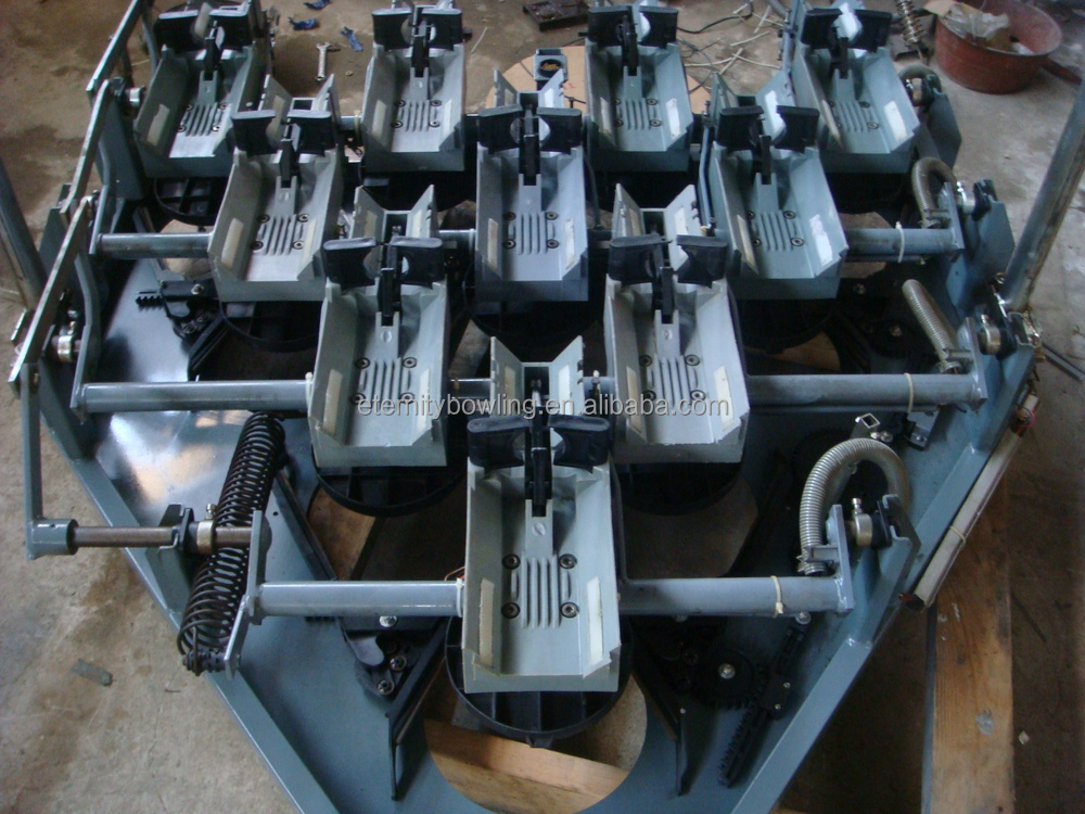 bowling alley machine cost
