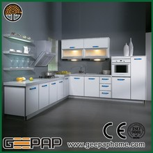china ten top kitchen cabinet factory, color painting uv mdf