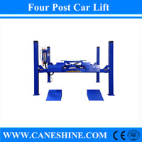 2015 CE&ISO Approved Factory Caneshine Garage Equipment 5500kg Four Post Car Lift Price CS-450/450A