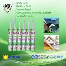 All Purpose No More Nails (Water Base) High Quality Liquid Nail Sealant For Caulk Filling