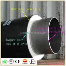 underground hot water pre-insulation pipe