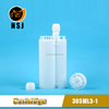 385ml 3:1Plastic One-off Side by Side Empty Silicone Glue Bottle