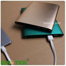 SINOTEK Thin Slim Power Bank 20000mah portable charger,external Battery 20000 mah mobile phone charger