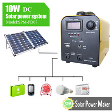 10w DC solar power system
