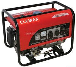 Cheap Price!6kva Elemax Honda Engine Silent Portable Factory Direct Sale Gasoline Generator