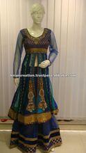 Salwar kameez lehenga style long sleeves