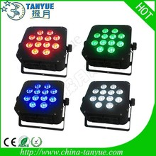 New Mini 9*8w rgbw par can light led par quad