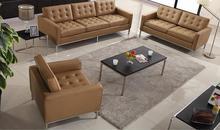 JH-C14-2 top quality Armchair modern single PU sofa designer sofa