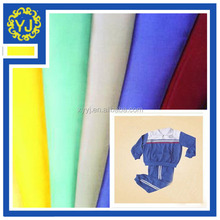 continous dyed polyester cotton uniform fabric