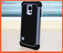 3 in 1 Football hybrid Case PC + silicone + TPU case for Samsung Galaxy S5 i9600