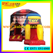 2015 Popular Cartoon Woody inflatable bounce house combo/inflatable air castle/jumping castle