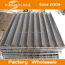 Corrugated aluminum tray/stainless steel mesh/baking tray french translation