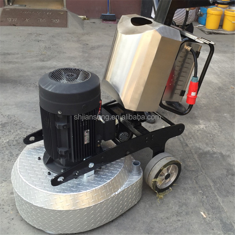 Electric oil ground polisher concrete floor grinding for Floor grinding machine