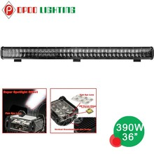Cheap offroad dual row 36 inch 390w led light bar