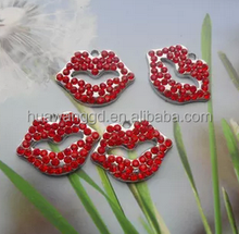 Free Shipping Red Lips pendant for necklace