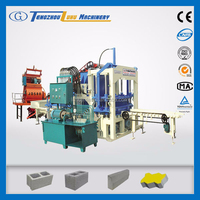 hydraulic station QT4-20C standard concrete hollow block specification
