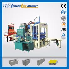 hydraulic station QT4-20C standard concrete hollow block specification