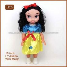 Liya nuevo diseño de niña de la muñeca, muñecas disneys
