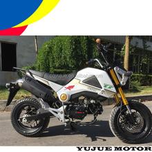 Hot Selling Small MONKEY Racing Bike/nueva motocicleta de 125cc para peru