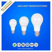 Sinywon 2015 led energy saving light smd2835 3w 5w 7w 12w PC Housing CC Driver 12w led light bulb e27
