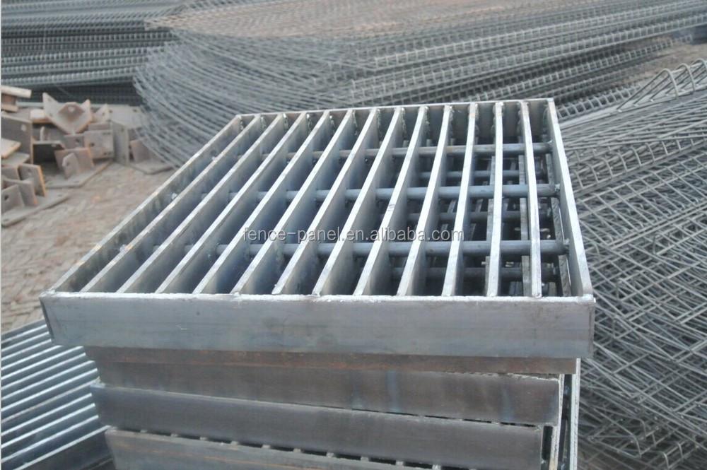 Trench Drain Cover Grating Steel Bar Grating Floor Drain
