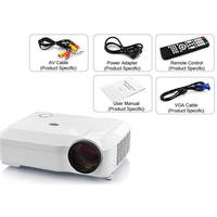 5.8 inch TFT LCD led projector 3500 lumens