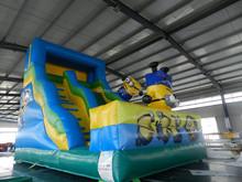 Popular Cartoon commercial inflatable slip n slide