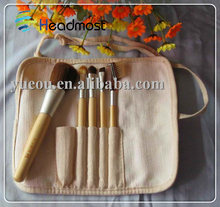 maple wood brush Wholesale Low MOQ Professional Facial Beauty Cosmetic Makeup Tools Brush Set 23 Piece With Brush Rolls