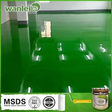 Double component good adhesion epoxy floor paint