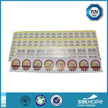 Cheap classical adhesive label for roll sticker