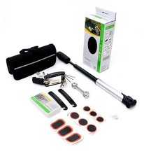 SAHOO 21040 Bike Repair Tool Set Mini Pump Patch Kits Tire Lever A Set bicyle tool
