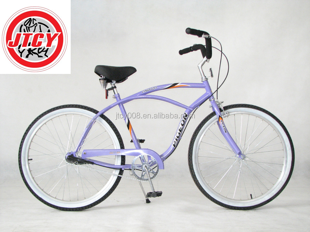"26"" Beach cruiser Bike for woman/ chopper Bicycle/ specialized beach cruiser bike"