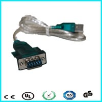 usb serial port line 9 pins usb to rs232 hl-340 support win7 win8