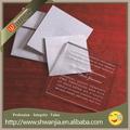 رسالة دعوة زفاف دعوة حفل عيد الميلاد الاكريليك