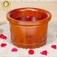 Royal luxury wooden foot soak basin, providing noble enjoyment for your kids