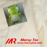 100 cotton brushed velour fabric for stuffed toys