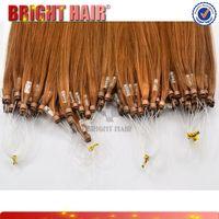 Hot sale 100% human hair nano ring hair products