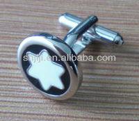 Fashional Brand Star Metal Jewelry Cufflinks Manufacturer