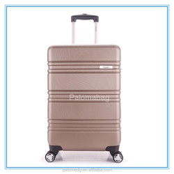High quality travel hard shell ABS PC luggage cases