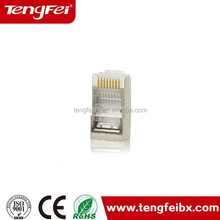 cat5 cat5e cat6 rj45 female shield cat5e stp rj45 male connector