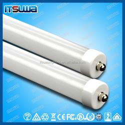 High lumen AC100-277V SMD2835 120LM/W UL cUL DLC CSA external driver T8 led tube 5 years warranty
