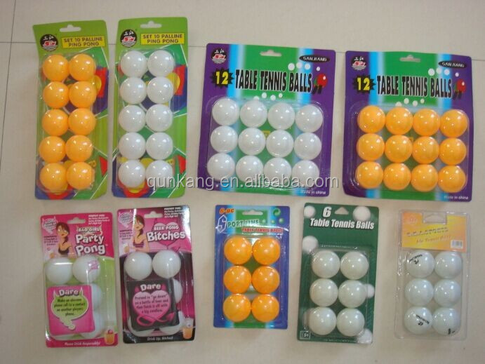 High quality table tennis balls ping pong balls buy for Small ping pong balls