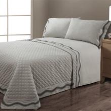 Weave Dot Embroidery Luxury Elegent bedding Sheet Set