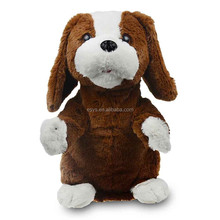 cute puppy toy electronic plush toy with dance and sing good quality