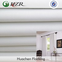 Polyester and Cotton woven Blackout PA coating Fire retardant fabric in stock