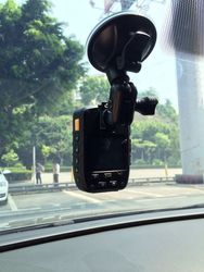 2 inch LED display night vision car video camera recorder with gps