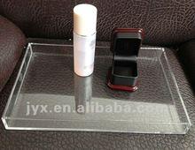 High transparent beverage tray